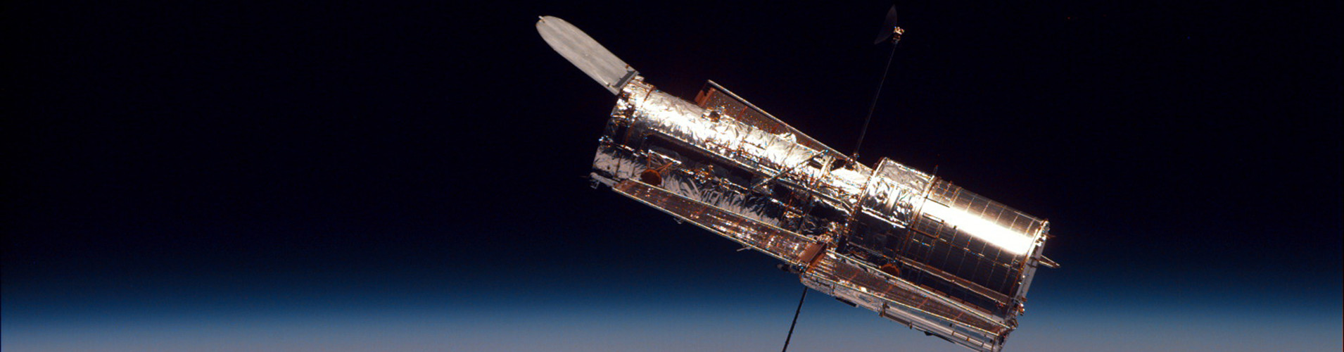 Hubble Space Telescope Banner